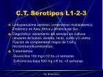 c t serotipos l1 2 3