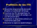 profilaxis de las its
