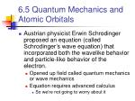 6 5 quantum mechanics and atomic orbitals