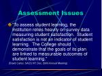 assessment issues20