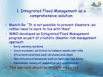 1 integrated flood management as a comprehensive solution