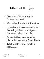 ethernet bridges