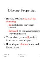 ethernet properties