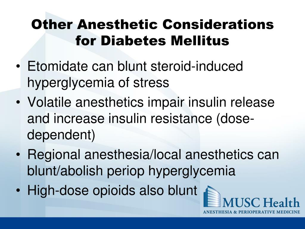 Other Anesthetic Considerations
