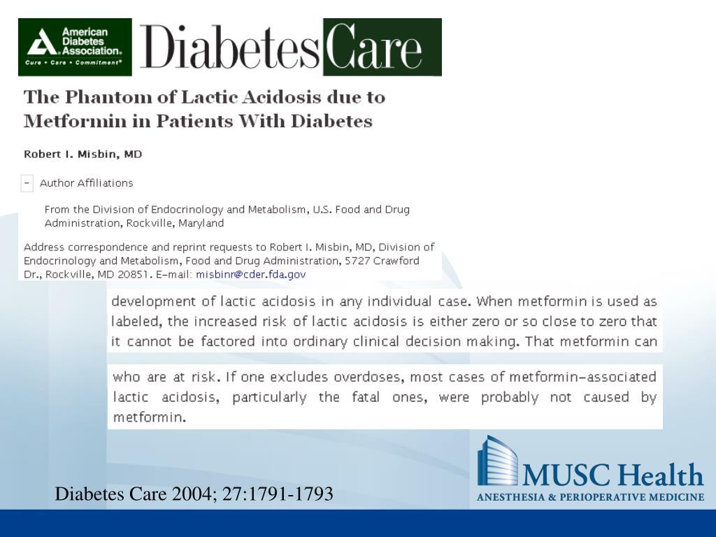 Diabetes Care 2004; 27:1791-1793