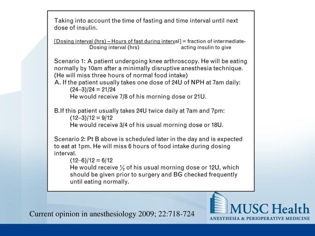 Current opinion in anesthesiology 2009; 22:718-724