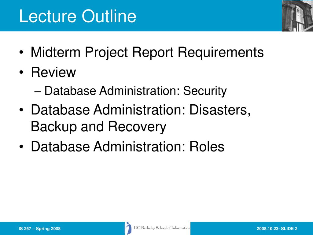 Midterm Project Report Requirements