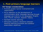 1 post primary language learners18