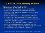 2 esl in irish primary schools61