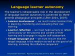 language learner autonomy8