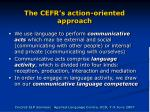 the cefr s action oriented approach