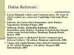 daftar referensi