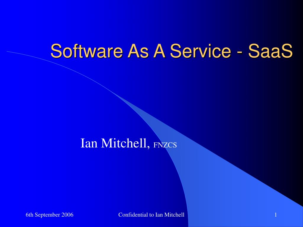 software as a service saas l.