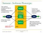 samurai software prototype