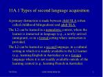11a 1 types of second language acquisition