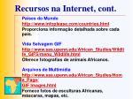 recursos na internet cont