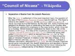 council of nicaea wikipedia