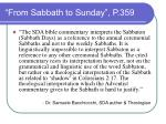 from sabbath to sunday p 359