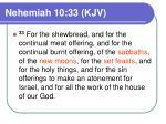 nehemiah 10 33 kjv