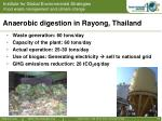 anaerobic digestion in rayong thailand