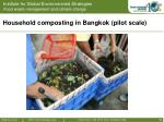 household composting in bangkok pilot scale