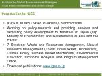 introduction to iges