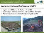 mechanical biological pre treatment mbt