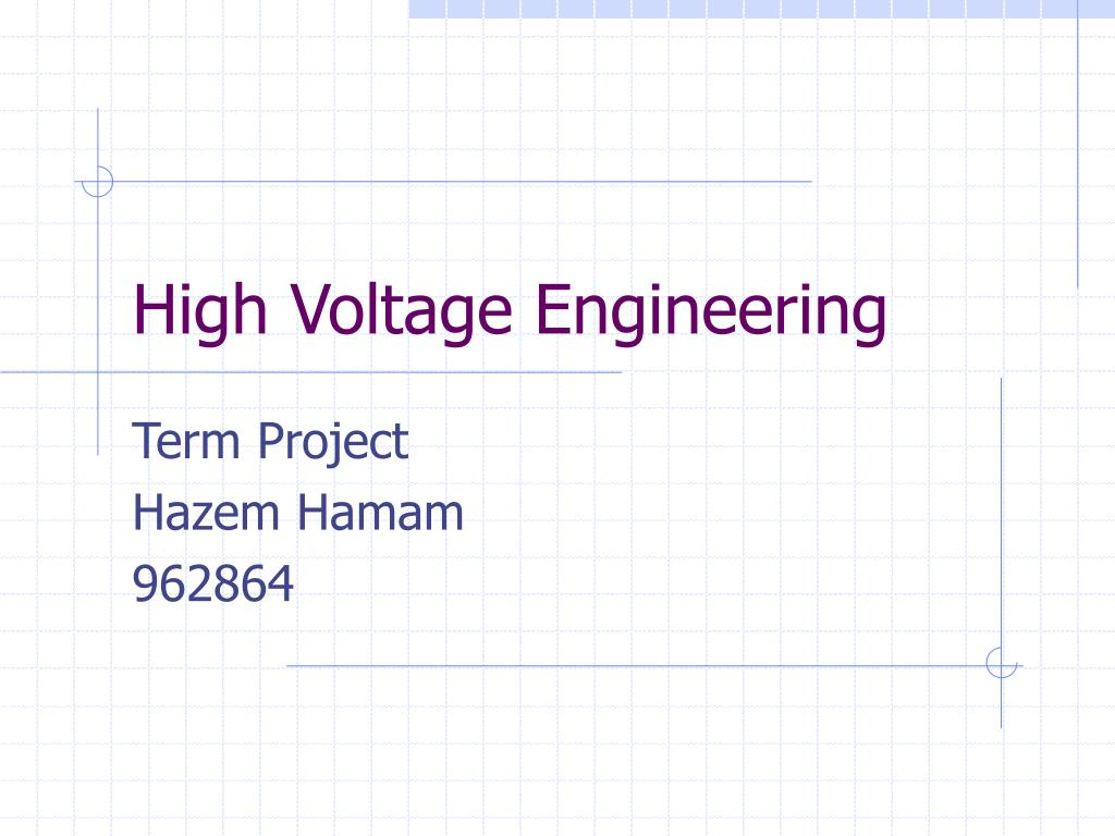 high voltage engineering l.