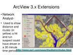 arcview 3 x extensions19
