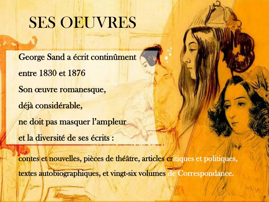 SES OEUVRES