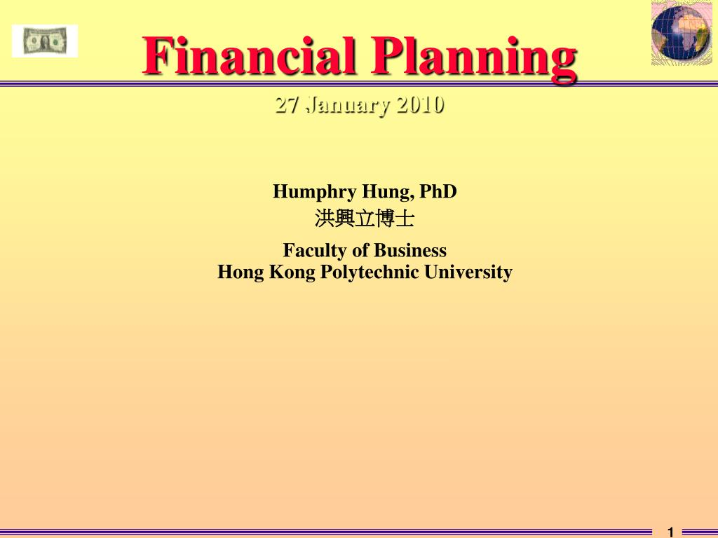 financial planning 27 january 2010 l.