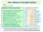 new relations on the global markets16