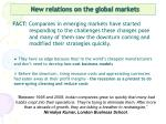 new relations on the global markets8