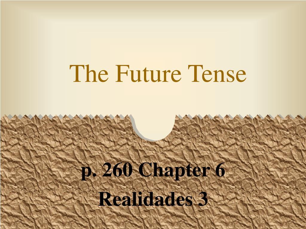 the future tense l.
