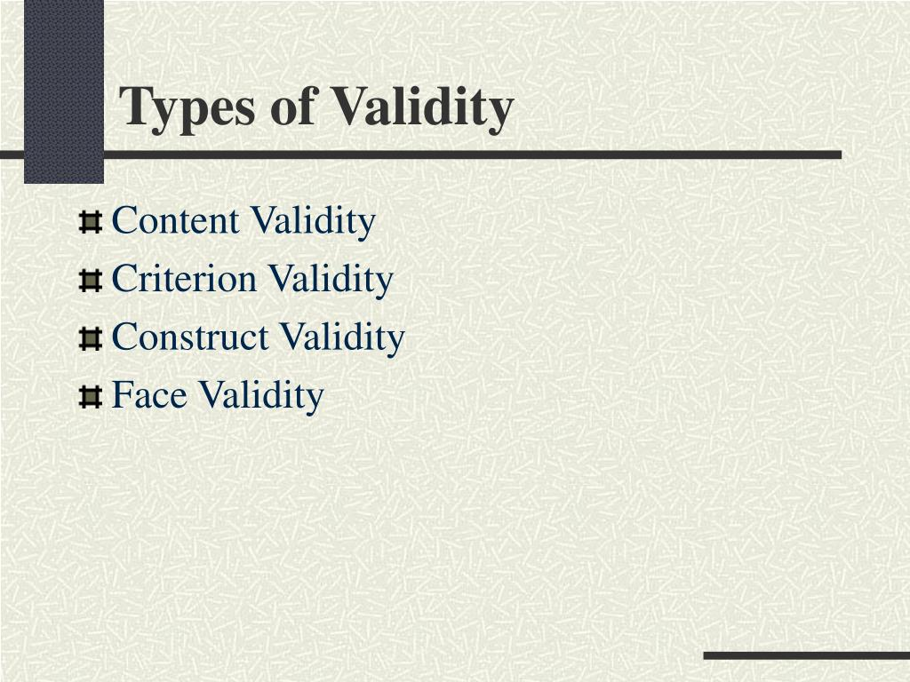 the validity and utility of selection