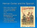 hernan cortez and the spanish