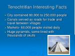 tenochtitlan interesting facts