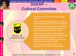 ssswf cultural committee