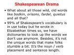 shakespearean drama7