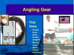 angling gear