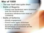 war of 185919