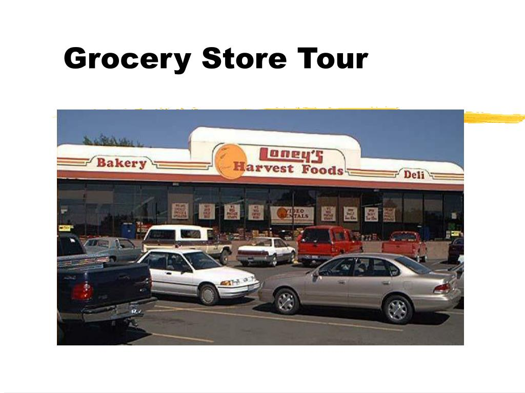 grocery store tour l.