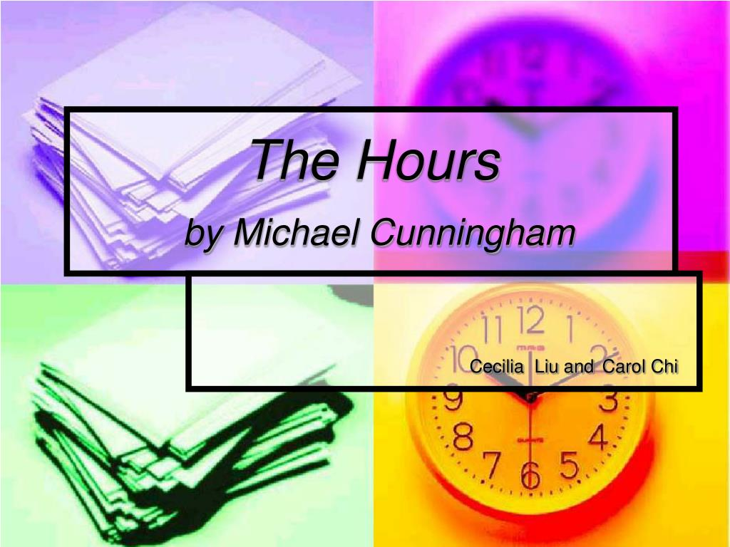 the hours by michael cunningham l.