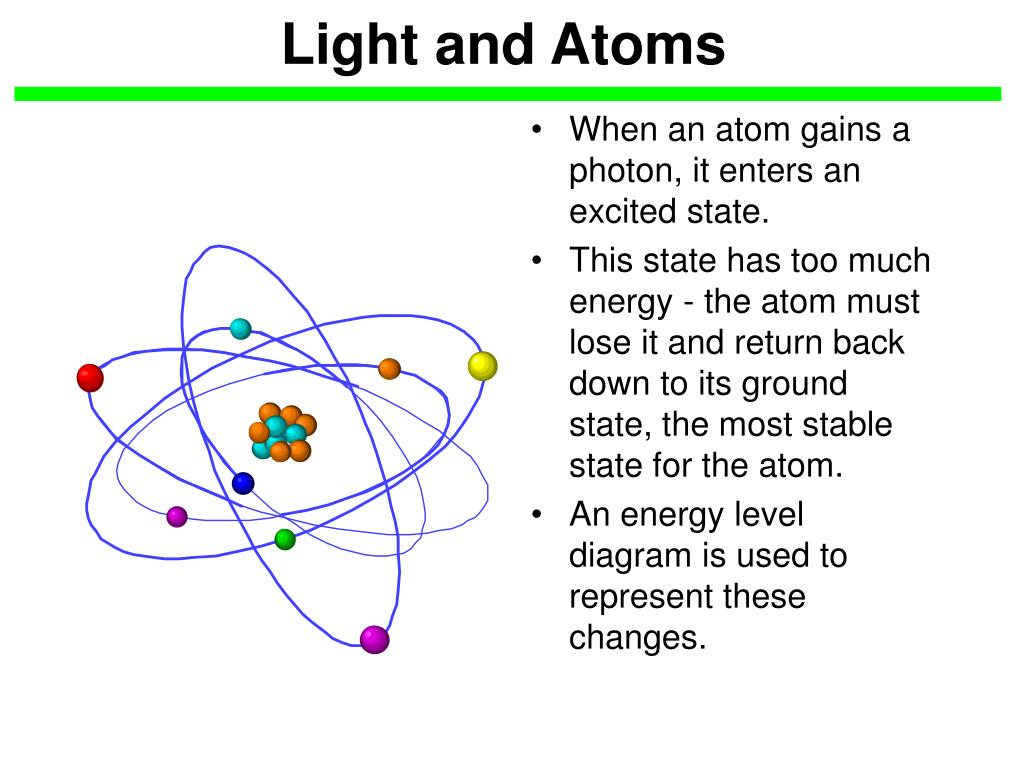 light and atoms l.
