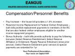 compensation personnel benefits