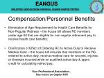 compensation personnel benefits13