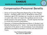 compensation personnel benefits14