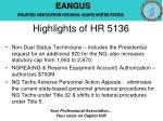 highlights of hr 5136