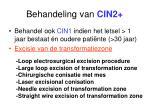 behandeling van cin227