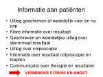 informatie aan pati nten